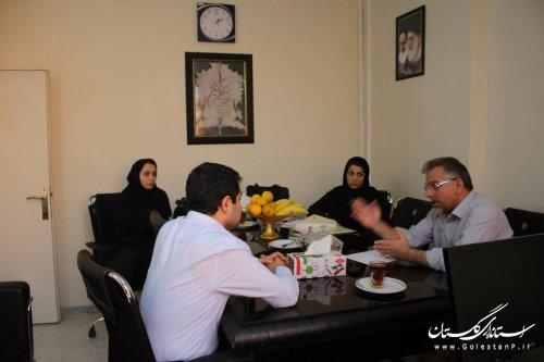 بازدید کارشناسان دانشگاه علوم پزشکی استان از درمانگاه تأمین اجتماعی آزادشهر