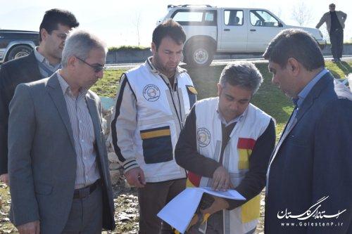 اجرای مانور منطقه ای تعمیرات پیشگیرانه برق در غرب استان با حضور فرماندار کردکوی