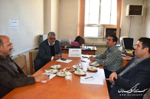 هیات بازرسی انتخابات شهرستان کردکوی تشکیل شد