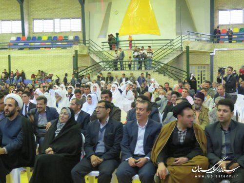 برگزاری جشن ازدواج آسان ویژه 70 زوج شهرستان رامیان