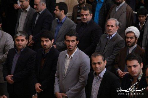 مراسم 9 دی با شکوه ویژه در مرکز استان گلستان برگزار شد