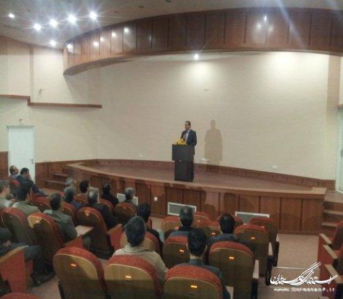 مراسم افتتاحیه دوره های آموزشی انتخابات برگزار شد