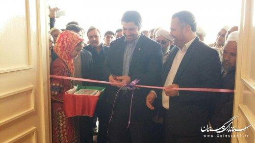 2  پروژه ورزشی در شهرستان های  بندر ترکمن و مراوه تپه به بهره برداری رسید :