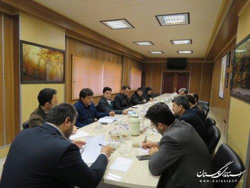 تشکیل جلسه شورای ترافیک شهرستان