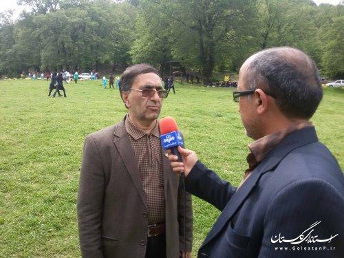 روزهای اردویی در پارک شبنم نوده خاندوز