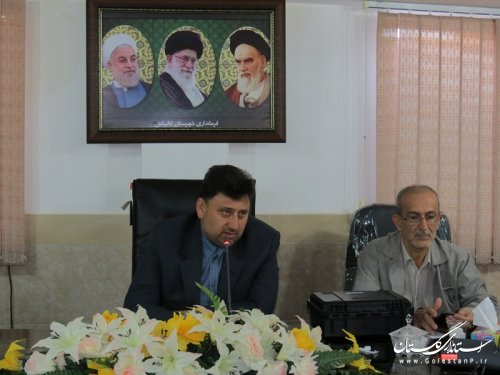 جلسه هماهنگی هیئت اجرائی، نظارت و ستاد انتخابات شهرستان تشکیل شد