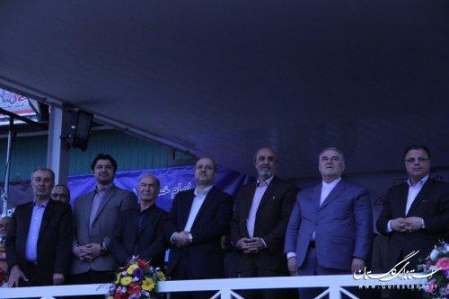 اولین المپیاد ورزشی گلستان اجلاسیه 4000 شهید استان در گرگان برگزارشد