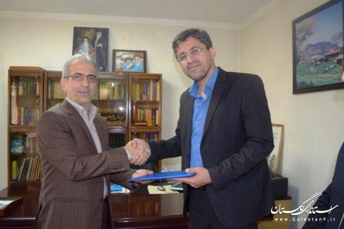 اعتبارنامه دکتر نورقلی پور توسط رییس حوزه انتخابیه غرب گلستان تقدیم شد