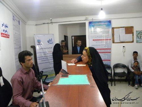بازدید مدیرکل امور اتباع و مهاجرین استان از دفاتر کفالت ، اقامت و اشتغال اتباع خارجی