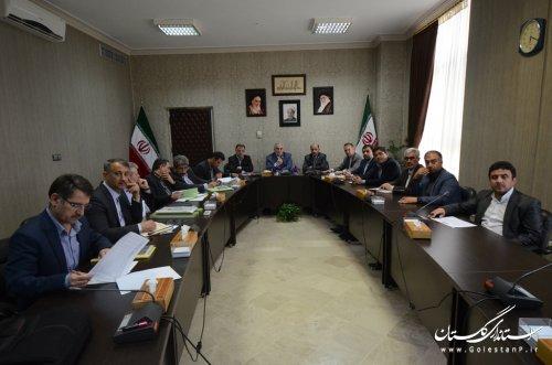 نشست صمیمی استاندار گلستان با نمایندگان استان در مجلس شورای اسلامی