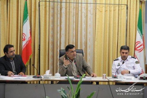 اولویت های ترافیکی گرگان توسط دستگاه های عضوشورای ترافیک به فرمانداری اعلام شود