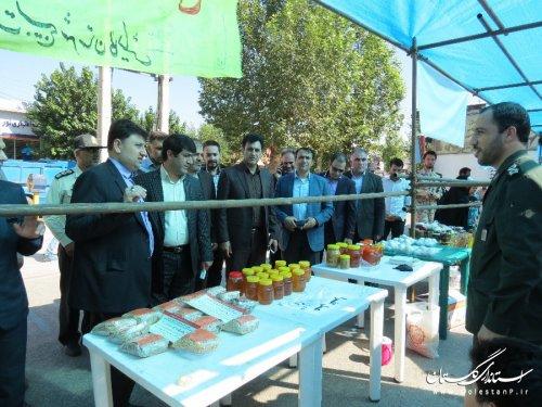نمایشگاه اقتصاد مقاوتی شهرستان گالیکش افتتاح شد