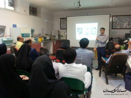 آموزش ارگونومی در پلی کلینیک امام خمینی (ره ) گرگان