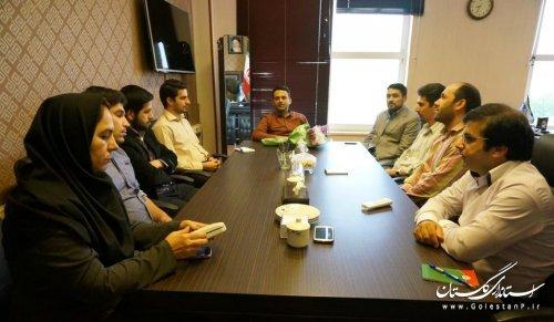 مراسم تجلیل از کارمندان اداره کل ارتباطات و فناوری اطلاعات استان برگزار شد