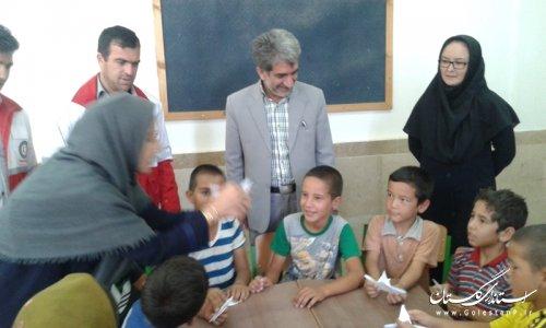 برپایی نمایشگاه توانمندیهای بانوان روستایی در روستای حبیب ایشان شهرستان آق قلا