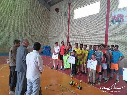 آغاز مسابقات ورزشی جام روستا قهرمان در بخش گلیداغ شهرستان مراوه تپه