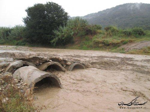 سیلاب و طغیان رودخانه ها در صادق آباد