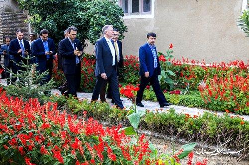 بازدید سفیر اتریش از بافت تاریخی گرگان