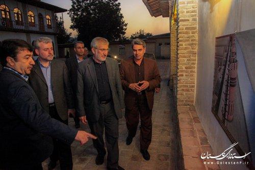 بازدید رییس بنیاد مستضعفان انقلاب اسلامی از بافت تاریخی گرگان