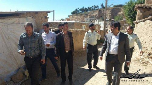 بازدید بخشدار مرکزی گالیکش از روستاهای پادل دل و پنو