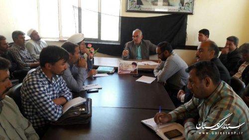 جلوگیری از ساخت و ساز غیر مجاز درحوزه روستایی از اولویت های کاری دهیاران است