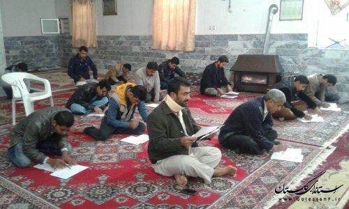 برگزاری کلاس آموزش کارگران ساختمانی در روستای کمال آباد گالیکش