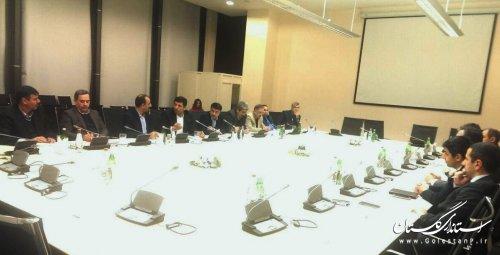 دیدار سرمایه گذاران و مسئولین بخش دولتی و خصوصی گلستان و آذربایجان