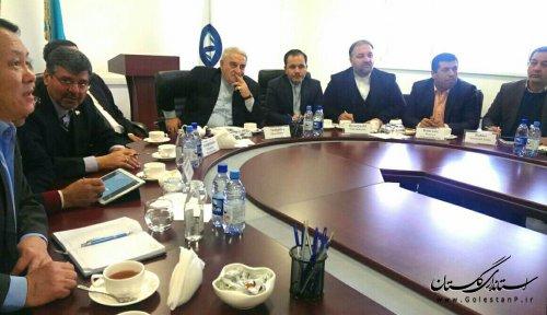 بازدید استاندار گلستان از کارخانه کود شیمیایی در کشور قزاقستان