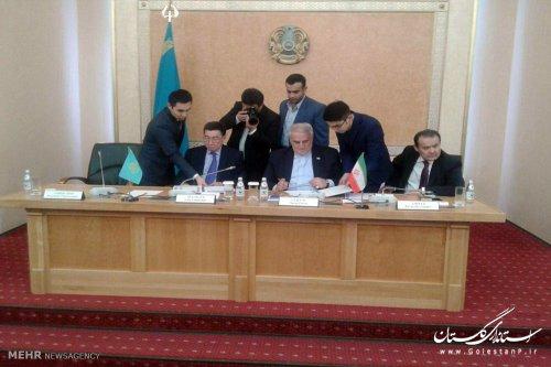 تفاهمنامه توسعه همکاری بین استان های گلستان و منگستائو قزاقستان به امضا رسید