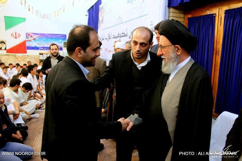 ديدار جمعي از جوانان استان گلستان با آيت الله نورمفيدي /تصاویر