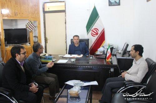 تشکیل ششمین جلسه ستاد انتخابات شهرستان مراوه تپه