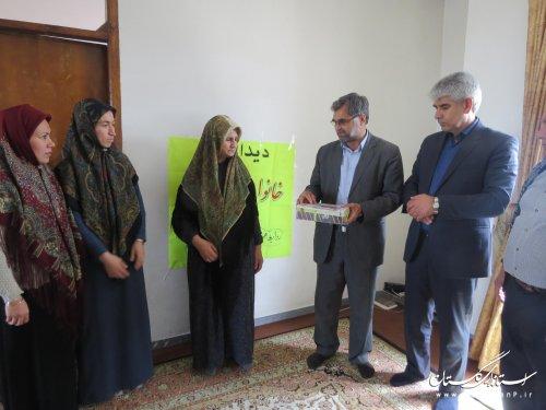 دیدار و تجلیل از مادرشهید والامقام عبدالحمیدایگدری در سیمین شهر