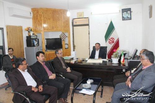 انتخاب اعضای اصلی و علی البدل هیئت اجرایی انتخابات شوراهای اسلامی مراوه تپه