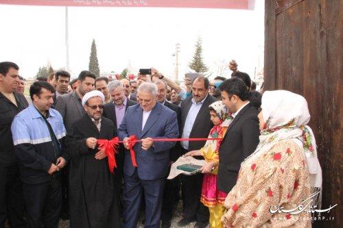 افتتاح کمپ نوروزی روستاییان شهرستان گرگان