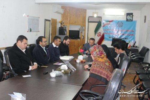 برگزاری یازدهمین جلسه ستاد انتخابات شهرستان مراوه تپه