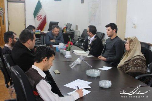 برگزاری سیزدهمین جلسه ستاد انتخابات شهرستان مراوه تپه