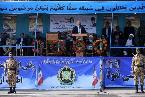 ارتش ایران به اقتدار بزرگی در زمینهٔ تسلیحات دست یافته است
