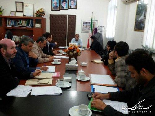 نهمین جلسه ستاد انتخابات شهرستان بندرگز برگزار شد