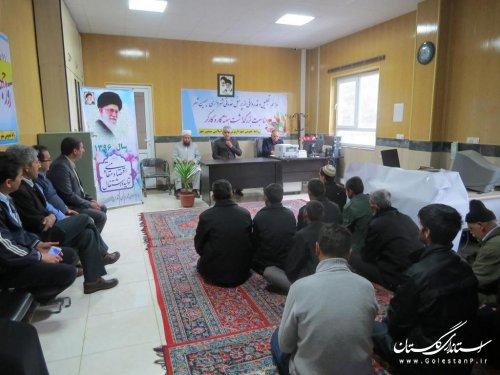 مراسم بزرگداشت هفته کار و کارگر در شهرداری سیمین شهر