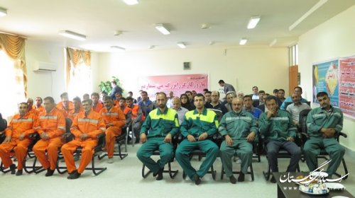 گرامیداشت روز کار و کارگر به صورت متمرکز در شهرداری گالیکش