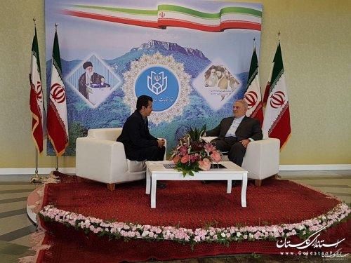 مردم فهیم گلستان با حضور حداکثری در انتخابات، خوش درخشیدند