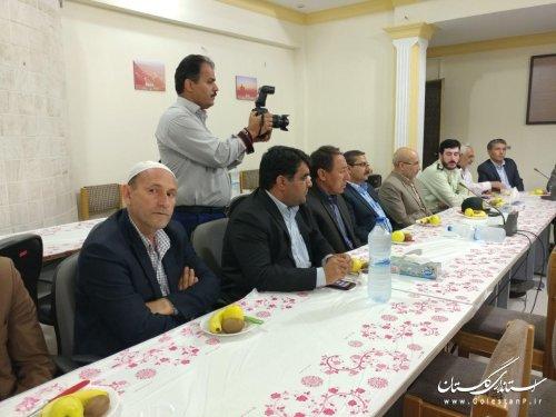 تجلیل فرماندار از عوامل اجرایی برگزاری انتخابات 96
