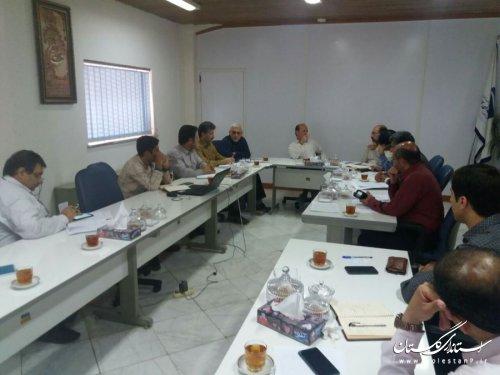 سی امین جلسه کمیته بحران و پدافند غیر عامل شرکت آب منطقه ای گلستان برگزار شد