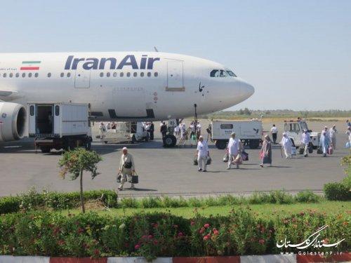 بازگشت اولین گروه از زائرین حج تمتع96 استان گلستان