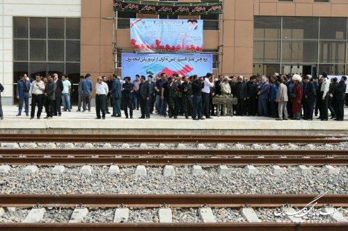 ورود نخستین قطار کانتینری از چین، طلیعه توسعه ترانزیت کالا از اینچه برون است