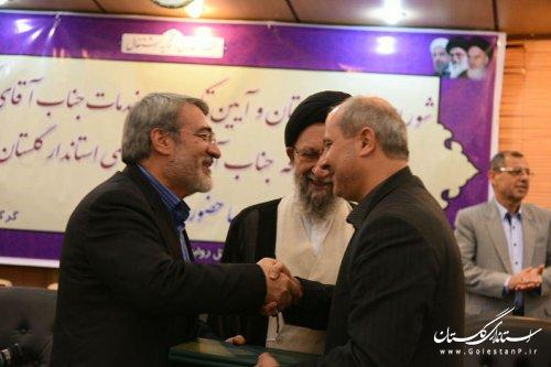 هاشمی حکم استانداری خود را از وزیر کشور دریافت کرد