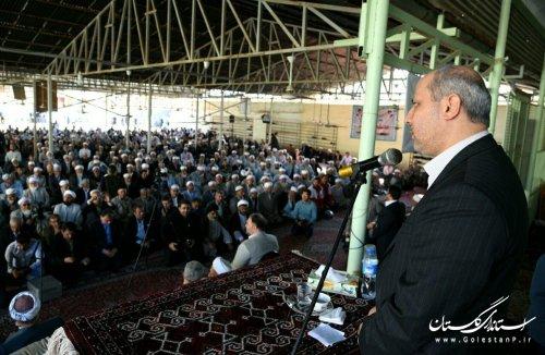 وحدت موجود در جمهوری اسلامی ایران و استان گلستان، باعث افتخار است