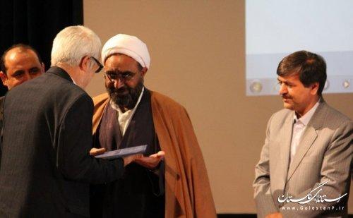 مراسم تکریم و معارفه شهردار فاضل آباد برگزار شد