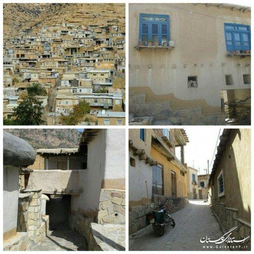 لوح ثبت ملی بافت تاریخی روستای فارسیان قانچی شهرستان آزادشهر رونمایی می شود