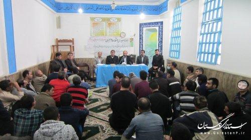 بازدید مدیر نمایندگی ستاد دیه از زندان گرگان